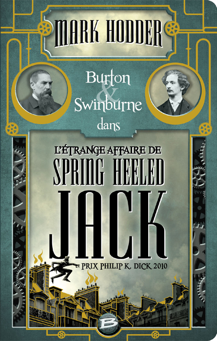L'étrange affaire de Spring Heeled Jack de Mark Hodder