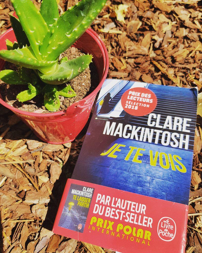 """""""Je te vois"""" de Clare Mackintosh. Chroniques de livres et conseils de lecture par MLBA."""